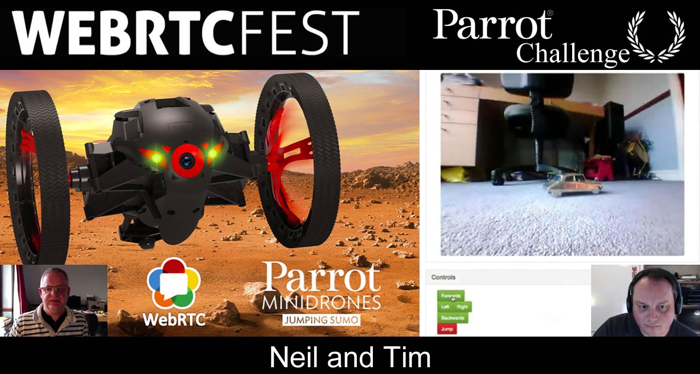 WebRTCfest_Parrot_Winner